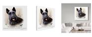 "Trademark Global Howard Robinson 'Scottish Terrier' Canvas Art - 14"" x 14"""
