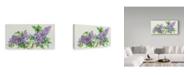 "Trademark Global Joanne Porter 'Lilac Sprigs' Canvas Art - 10"" x 19"""