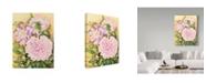"Trademark Global Joanne Porter 'Spring Peony' Canvas Art - 14"" x 19"""