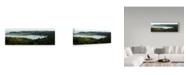 "Trademark Global Lance Kuehne 'Bolinas In Spring' Canvas Art - 10"" x 32"""