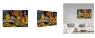 """Trademark Global Juan Gris 'Still Life with a Guitar, 1913' Canvas Art - 12"""" x 19"""""""