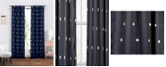 "Duck River Textile Gruden 38"" x 84"" Star Print Blackout Curtain Set"