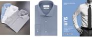 Calvin Klein Calvin Klein Men's STEEL Slim-Fit Non-Iron Stretch Performance Dress Shirt