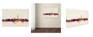"Trademark Global Michael Tompsett 'Washington DC Skyline V' Canvas Art - 12"" x 19"""