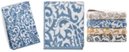 "Charter Club 30"" x 56"" Elite Cotton Scroll Paisley Bath Towel, Created for Macy's"