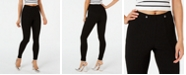 Hue Textured Knit High-Waist Leggings