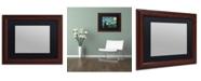 "Trademark Global Trademark Fine Art Heavy Duty Wood Frame with Black Mat - 11"" x 14"""