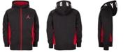 Jordan Little Boys Speckle Zip-Up Hoodie, Created For Macy's