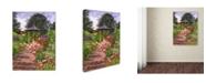 "Trademark Global David Lloyd Glover 'Carrington Garden' Canvas Art - 35"" x 47"""