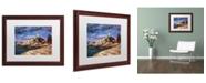 "Trademark Global David Lloyd Glover 'The Mariner's Sentina' Matted Framed Art - 16"" x 20"""