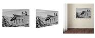 """Trademark Global Jason Shaffer 'Combine' Canvas Art - 24"""" x 16"""""""