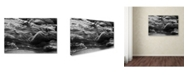 "Trademark Global Jason Shaffer 'Lake Erie Waves' Canvas Art - 19"" x 12"""