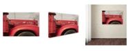 """Trademark Global Jason Shaffer 'Mack Truck' Canvas Art - 24"""" x 16"""""""