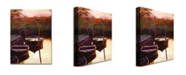 "Trademark Global David Lloyd Glover 'Moment at Sunrise' Canvas Art - 32"" x 24"""