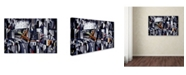 "Trademark Global Catherine Abel 'La Rive Gauche 2002' Canvas Art - 24"" x 16"""