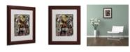 """Trademark Global Ikahl Beckford 'Pearl Jam' Matted Framed Art - 14"""" x 11"""""""