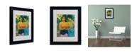 "Trademark Global Paul Gauguin 'Two Tahitian Women 1899' Matted Framed Art - 14"" x 11"""