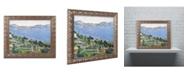 """Trademark Global Paul Cezanne 'The Little Bridge 1879' Ornate Framed Art - 16"""" x 20"""""""