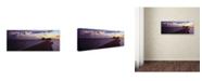 "Trademark Global David Evans 'Cumulus Energy-Maldives' Canvas Art - 6"" x 19"""