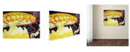 "Trademark Global Jennifer Redstreake 'Chattanooga Jelly Fish' Canvas Art - 24"" x 32"""