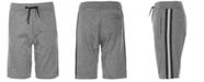 Univibe Big Boys Vulcan Regular-Fit Stretch Side-Stripe Knit Shorts