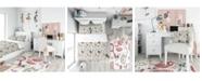 Design Art Designart 'Sweet Girl Summervibes' Casual Teen Duvet Cover Set - Twin
