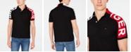 Tommy Hilfiger Men's Big & Tall Ronny Colorblocked Logo Sleeve Polo Shirt