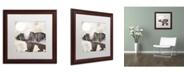 "Trademark Global Color Bakery 'Going Wild III' Matted Framed Art - 16"" x 16"""