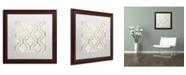 "Trademark Global Color Bakery 'Paris Apartment IV' Matted Framed Art - 16"" x 16"""