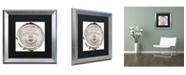 "Trademark Global Color Bakery 'Paris in Frames 2' Matted Framed Art - 16"" x 16"""