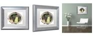 "Trademark Global Color Bakery 'Paris in Frames 9' Matted Framed Art - 11"" x 14"""