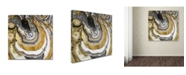 "Trademark Global Color Bakery 'Stone Prose' Canvas Art - 24"" x 24"""