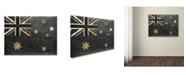 "Trademark Global Color Bakery 'Fashion Flag III' Canvas Art - 18"" x 24"""