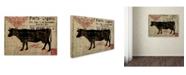 "Trademark Global Color Bakery 'Paris Farms I' Canvas Art - 18"" x 24"""