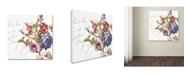 "Trademark Global Color Bakery 'La Belle Vie II' Canvas Art - 14"" x 14"""