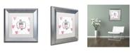 """Trademark Global Color Bakery 'Soul Food IV' Matted Framed Art - 11"""" x 11"""""""
