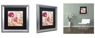 "Trademark Global Color Bakery 'Always Paris II' Matted Framed Art - 16"" x 16"""