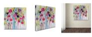 """Trademark Global Carrie Schmitt 'Joie de Vivre' Canvas Art - 35"""" x 35"""""""