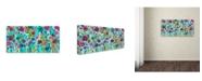 """Trademark Global Carrie Schmitt 'Spring Returns' Canvas Art - 24"""" x 47"""""""