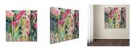 """Trademark Global Carrie Schmitt 'Into The Light' Canvas Art - 18"""" x 18"""""""
