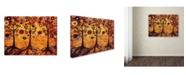"Trademark Global Natasha Wescoat '018' Canvas Art - 35"" x 47"""