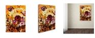 "Trademark Global Natasha Wescoat '106' Canvas Art - 24"" x 32"""