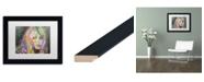 """Trademark Global Dean Russo 'Bardot1' Matted Framed Art - 11"""" x 14"""""""