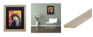 """Trademark Global Dean Russo 'Mick 2' Matted Framed Art - 16"""" x 20"""""""