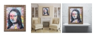 """Trademark Global Dean Russo 'Mona Lisa' Ornate Framed Art - 11"""" x 14"""""""