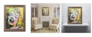 """Trademark Global Dean Russo 'Golden Marilyn' Ornate Framed Art - 16"""" x 20"""""""