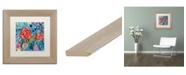 """Trademark Global Carrie Schmitt 'Drishti' Matted Framed Art - 11"""" x 11"""""""