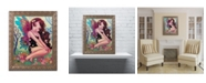 "Trademark Global Natasha Wescoat 'Rainbow Angel' Ornate Framed Art - 11"" x 14"""