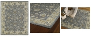 "Kaleen Brooklyn Keaton-05 Pewter 7'6"" x 9' Area Rug"