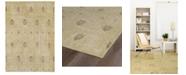 Kaleen Restoration RES01-05 Gold 4 'x 6' Area Rug